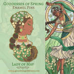Pin Concept - Lady of May by AngelaSasser