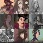 Ang's Art VS Artist 2020 by AngelaSasser