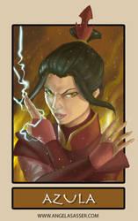 6 Fanarts Challenge - Azula from Avatar