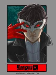 6 Fanarts Challenge - Joker from Persona 5