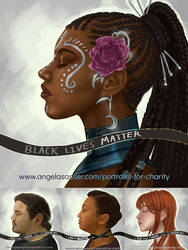 BLM Portraits for Charity - Collection 1