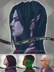 BLM Portraits for Charity - Collection 2