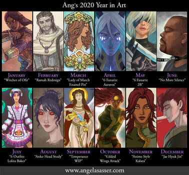 Ang's Year in Art 2020