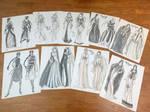 Birthstone Goddesses Fashion Concept Illustrations by AngelaSasser