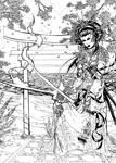 Japanese Witchblade Tomoe