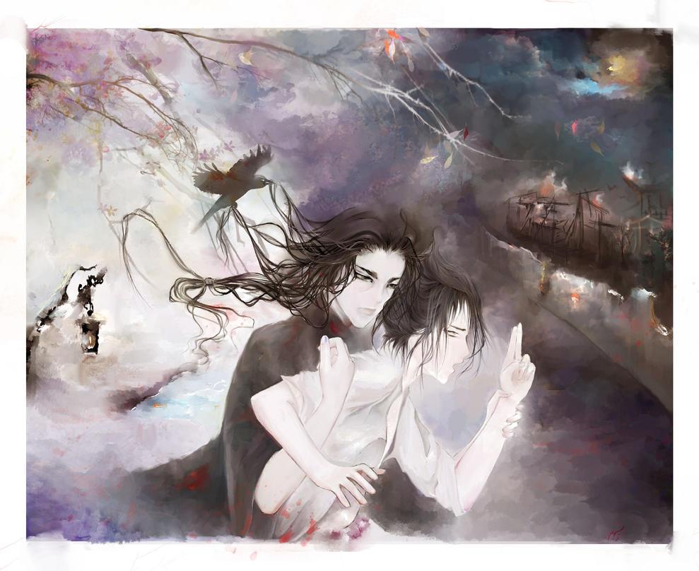 Itachi x Sasuke by shirinart