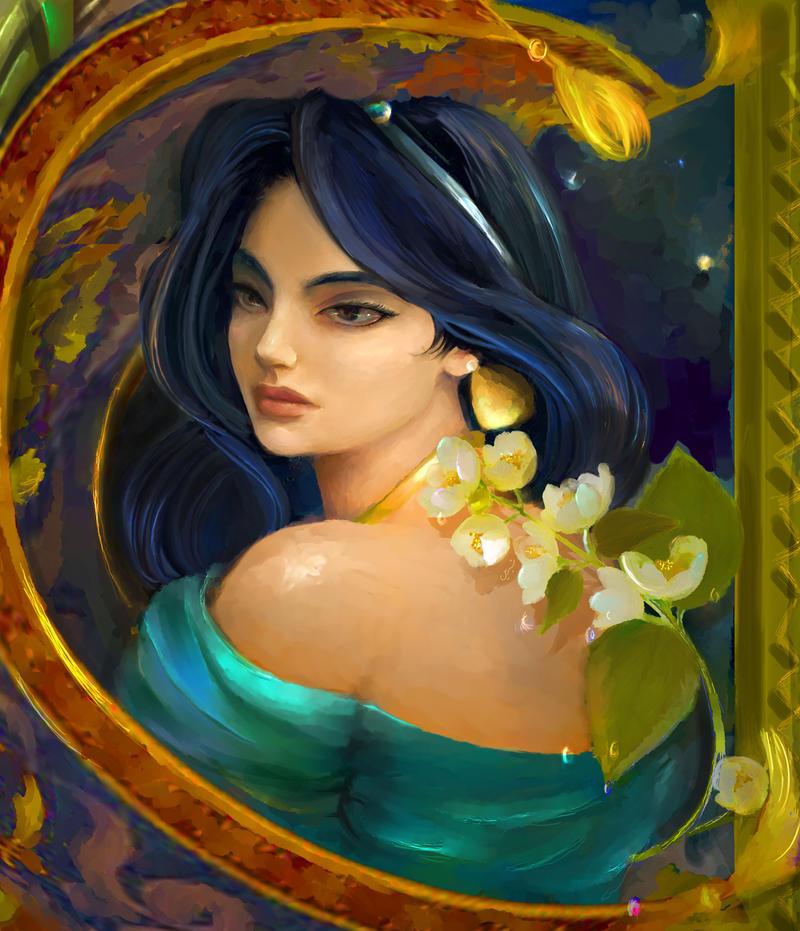 Princess Jasmine by shirinart