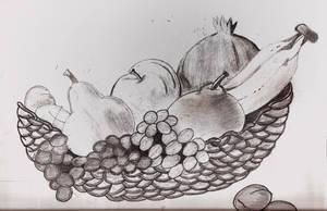 Still Life-Fruits by sapphirepsg