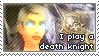 Death Knight Stamp by ScarletElegance