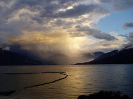 Nakusp Sky Stock by leeorr-stock