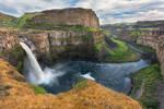 Palouse Waterfall Stock