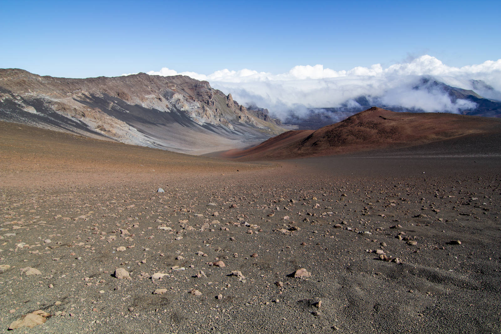 Volcano Desert Stock by leeorr-stock
