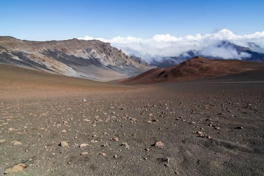 Volcano Desert Stock