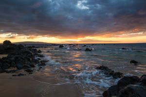 Hawaii Sunset Stock 4 by leeorr-stock