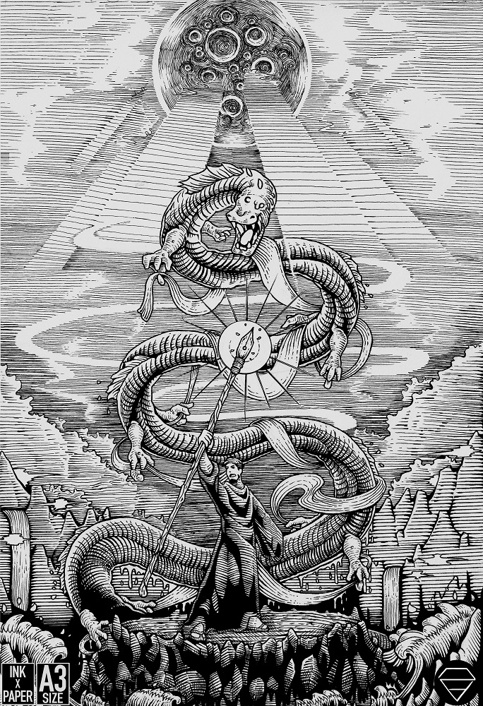 THE SPIRIT RISES by DzArethusa