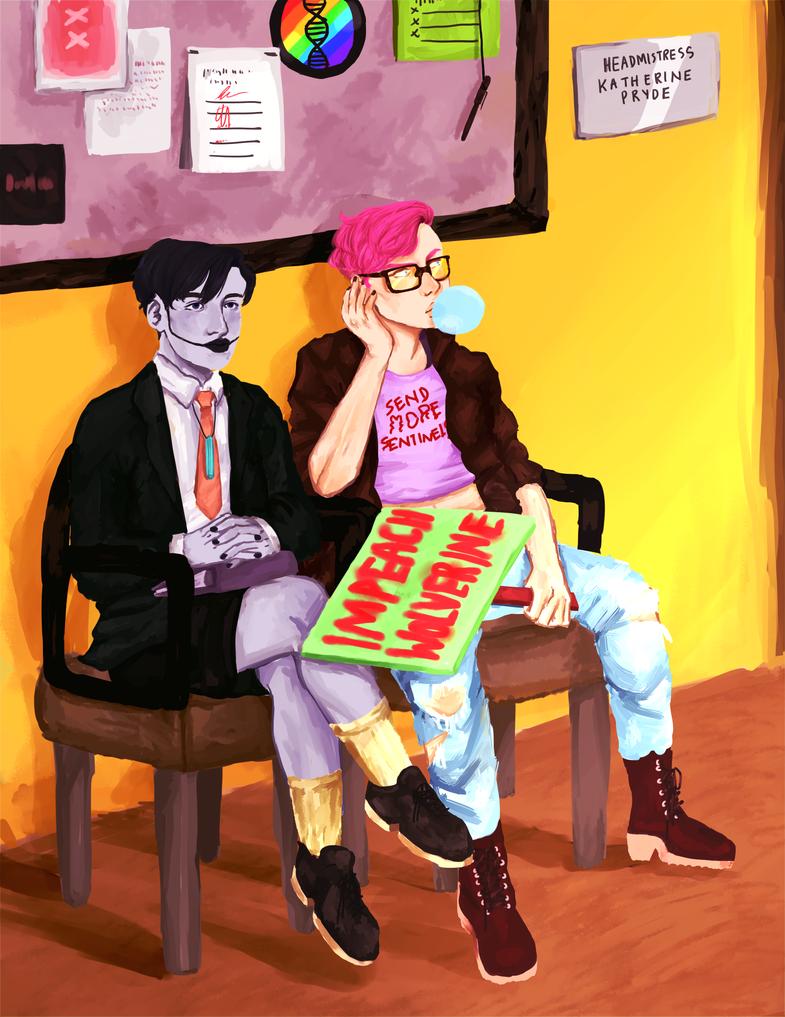 teenagers by PinepawStagCat