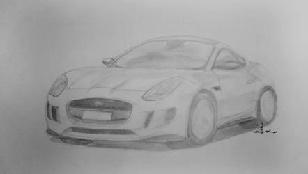 Jaguar C X16 Drawing