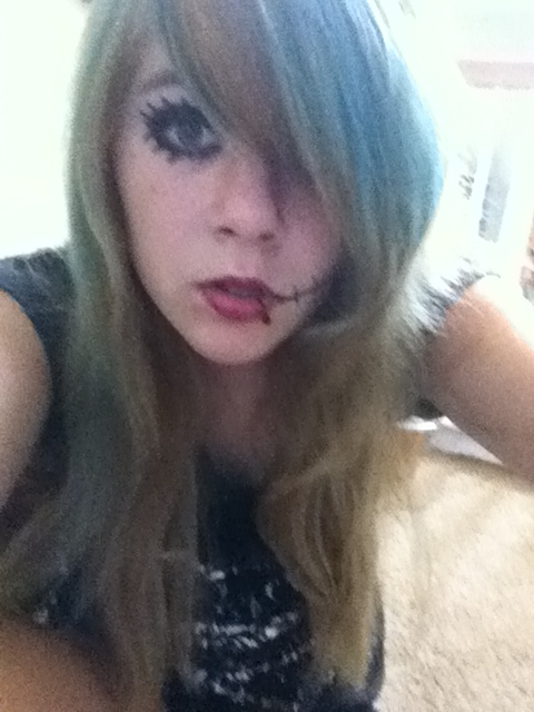 Me Attempting Andy Biersack Makeup by SashaBVB on DeviantArt