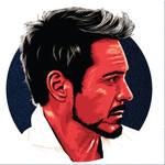 Robert Downey Jr. by AdNoctvm87