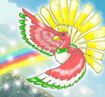 Ho-oh by roof8910