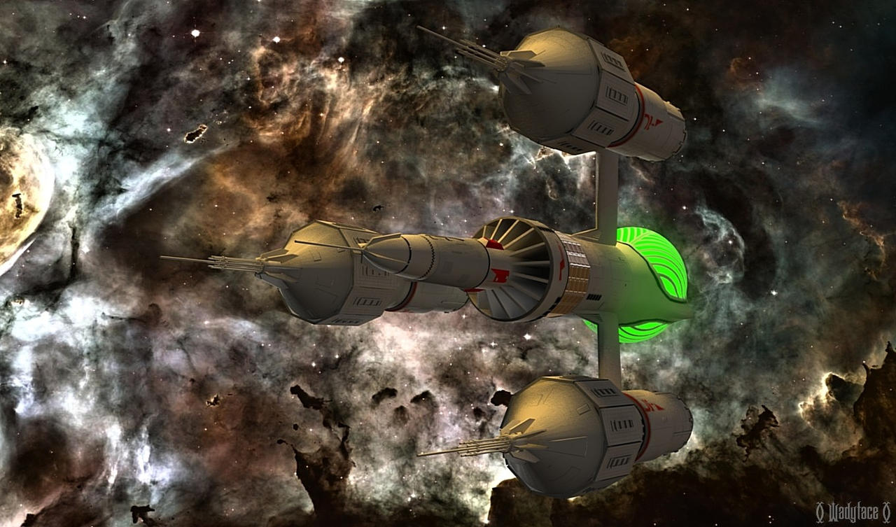 Blakes 7 - Liberator by Wadyface