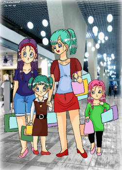 Shopping with Aunt Bulla