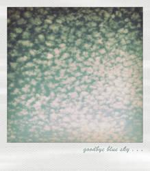 goodbye blue sky by Buschibxo