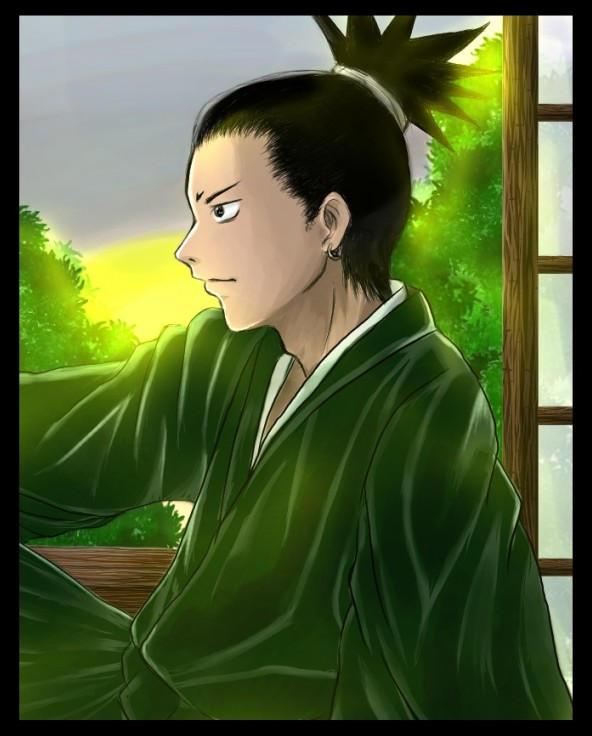 shikamaru by Yabukl