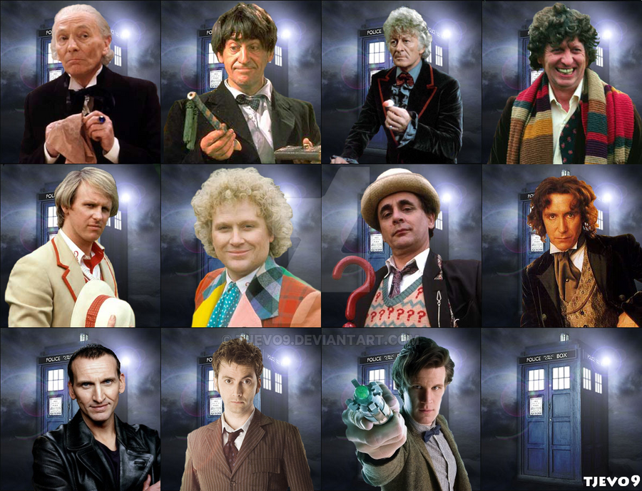 Galerry One Man Eleven Faces by The 13th Doctor on DeviantArt