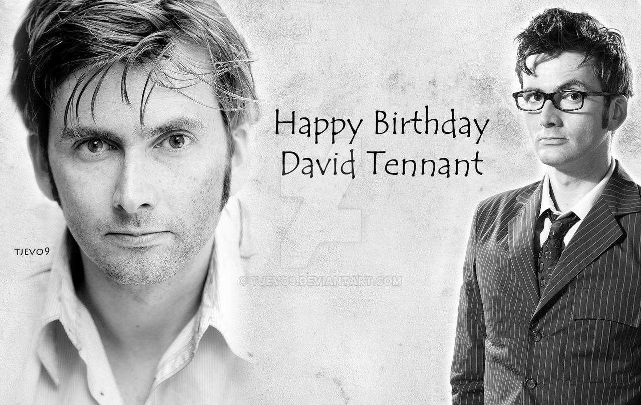 Happy 42nd Birthday David Tennant by tjevo9