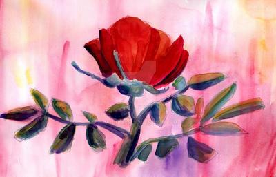 Rosa Roja by madniaco