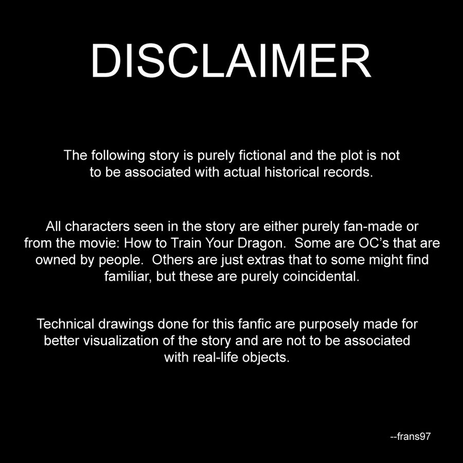 fanfic disclaimer