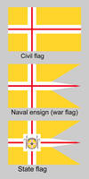 Nordic Union flags