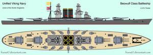 UVS Forste -Viking Battleship by frans97