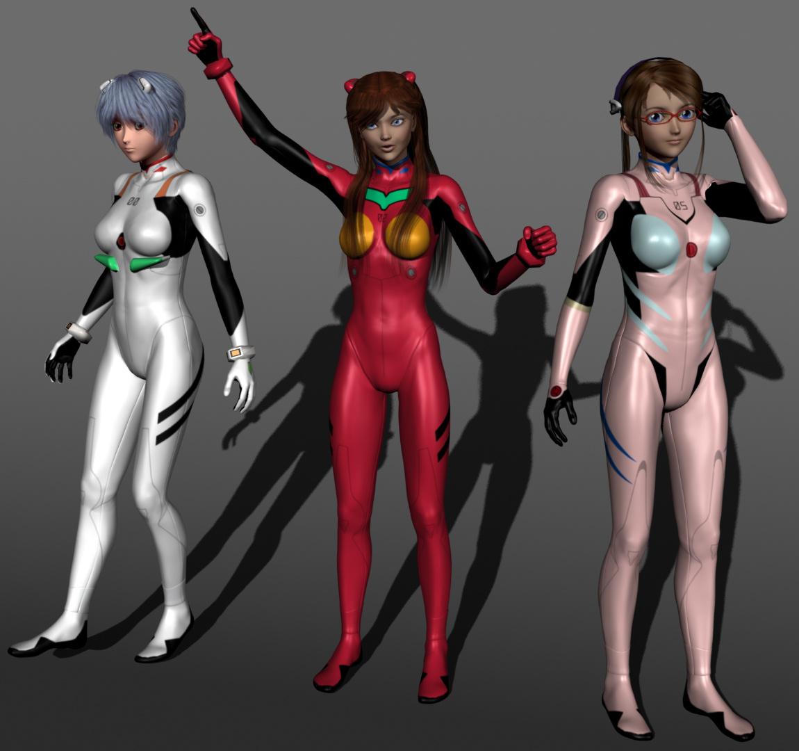 Evangelion Girls MCMXC2  EvilEliot