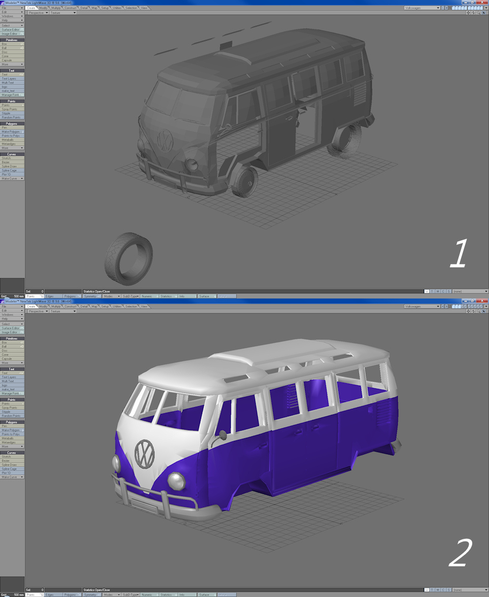How to create a mmd model