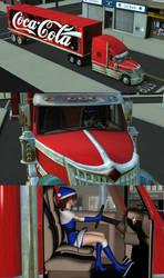 Arthuretta Christmas Truck by MCMXC2