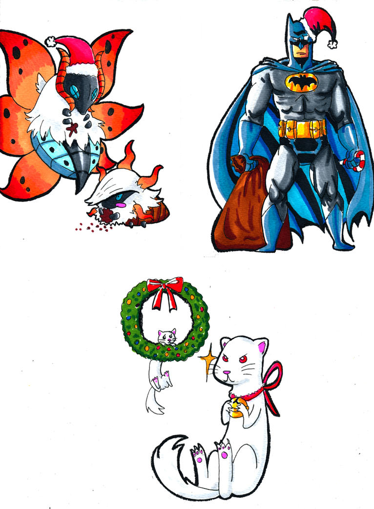 Christmas cards by IduChan on DeviantArt