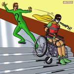 Robin and Riddler by bondageincomics