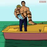 Sandy in the Black Lagoon 2 by bondageincomics