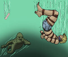Sandy in the Black Lagoon 3 by bondageincomics by korak225