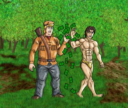 Korak and the Hunter 2 by 09tuf