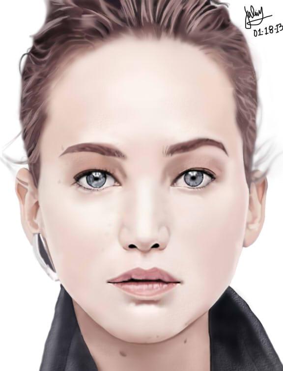 Katniss Everdeen (Jlaw) by julius17