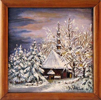 Winter scenery by JoannaPartyka