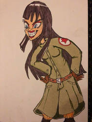 Mai, The Meanest Girl in the World in 1986 by AWildKittyAppeared