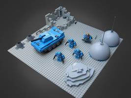 Space Marines by MeGustaKapusta