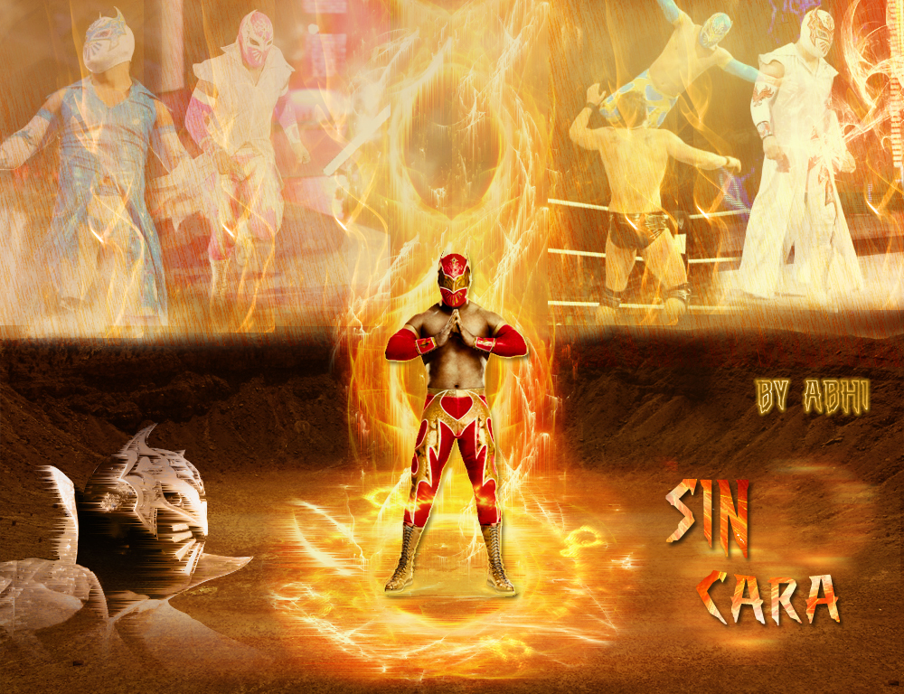Sin Cara Wallpaper By Abhishekawsomesharma