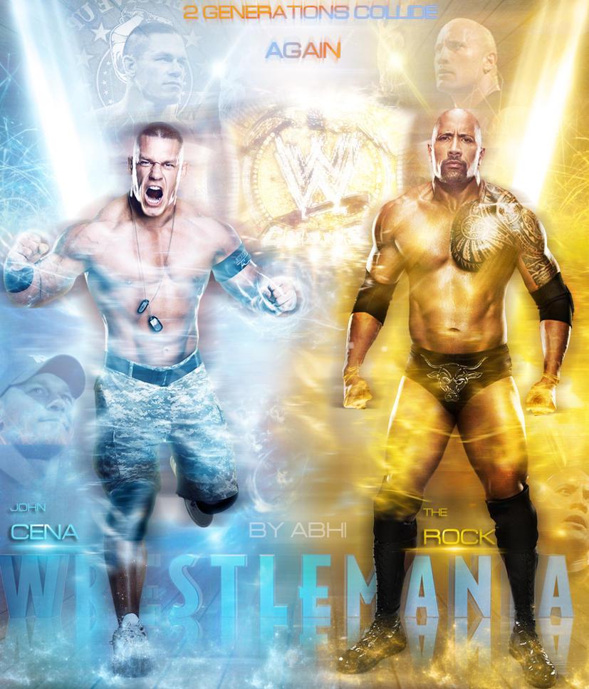 The Rock Vs John Cena Wrestlemania 29 Wallpaper