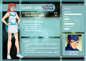 DCOC - Giant Girl Profile - Season 1