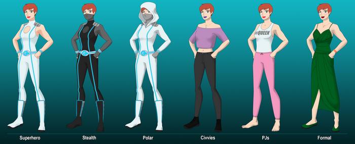 DCOC - Giantess Outfits - S3